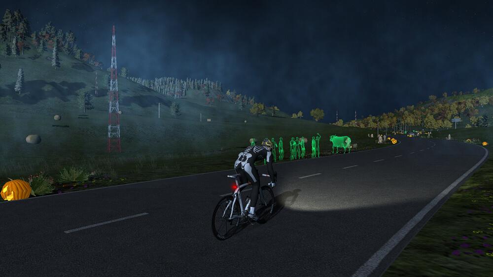 Simulador ciclismo bkool esqueleto