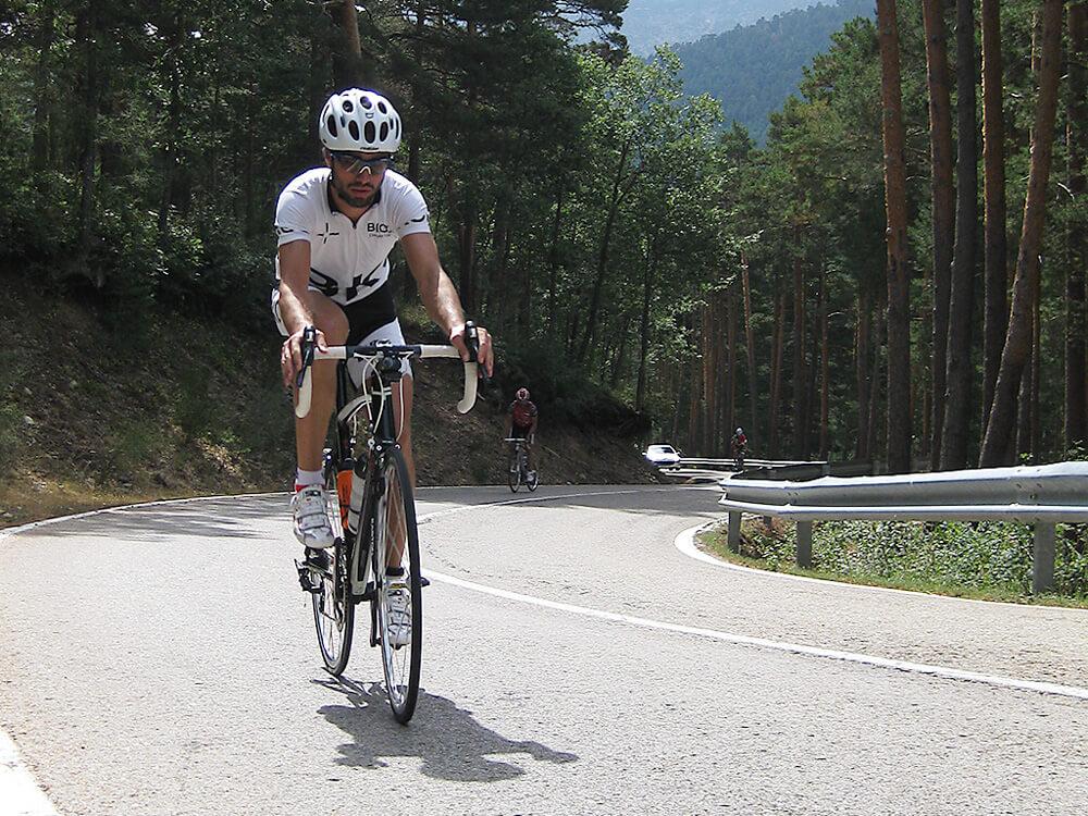 Entrenamiento deportivo cruzado ciclismo