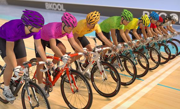 bkool simulator velodrome multiplayer