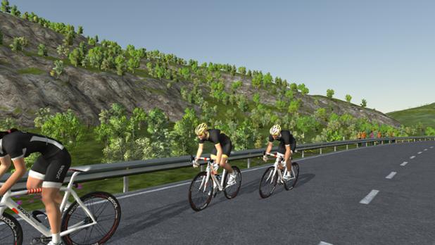 ¡Compite con ciclistas de todo el mundo!