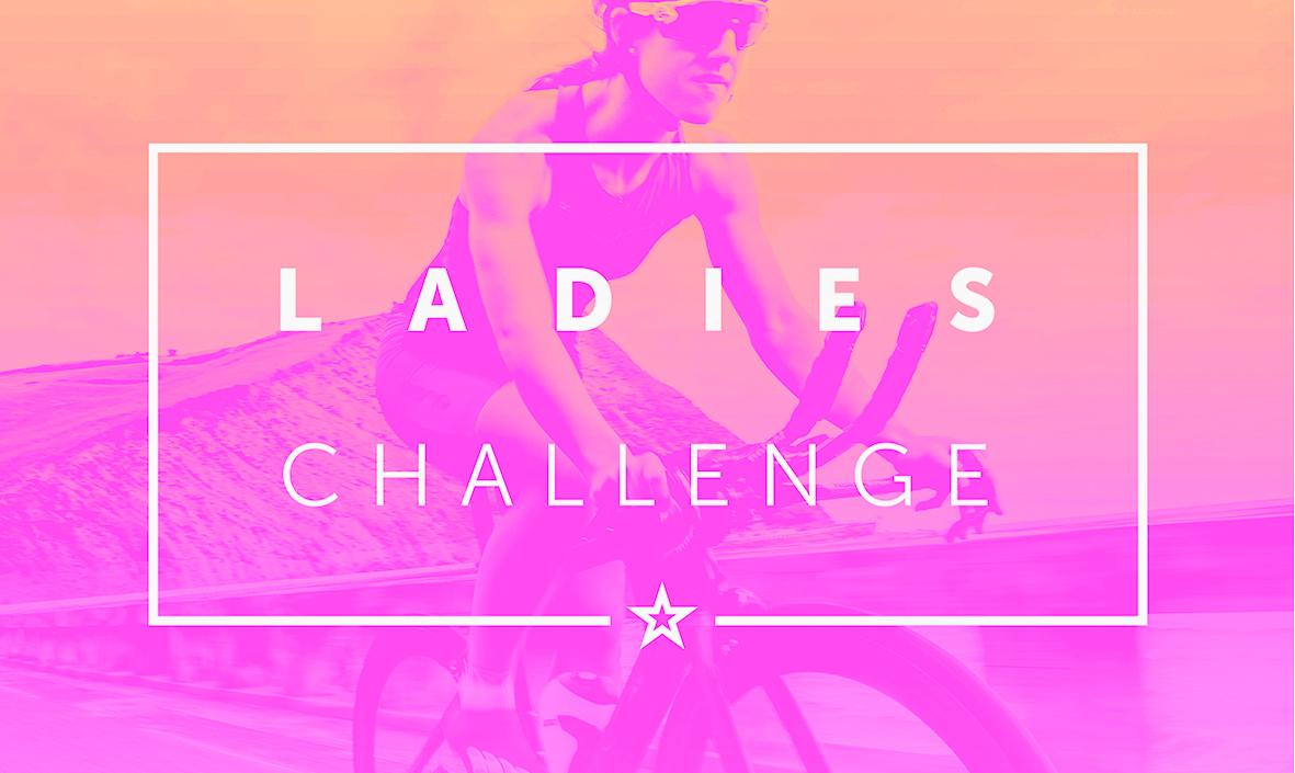 Primer reto femenino en un simulador de ciclismo
