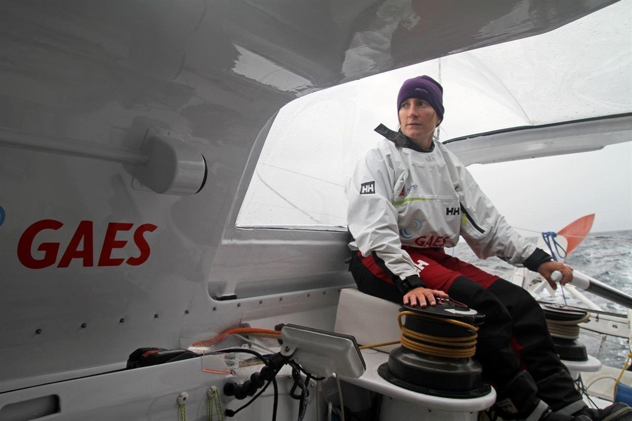 Anna Corbella, imagen de la Barcelona World Race