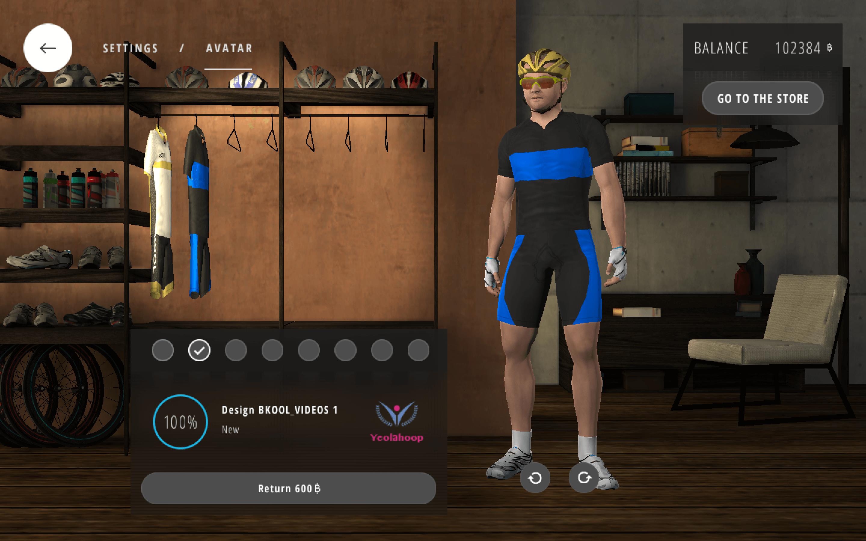 Closet Bkool Simulator